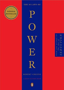 Front cover of The 48 Laws of Power by Robert Greene.