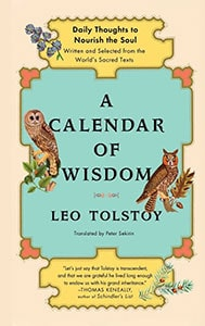 Front cover of A Calendar of Wisdom by Leo Tolstoy.