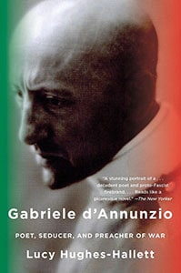 Front cover of Gabriele d'Annunzio by Lucy Hughes-Hallett.
