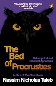 Front cover of The Bed of Procrustes by Nassim Nicholas Taleb.