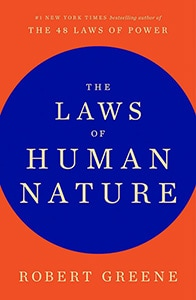 Front cover of The Laws of Human Nature by Robert Greene.
