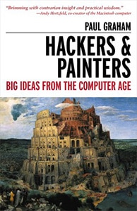 Front cover of Hackers & Painters by Paul Graham.