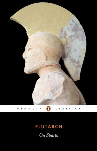 Front cover of On Sparta by Plutarch.